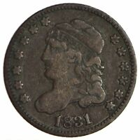 1831 CAPPED BUST HALF DIME - CIRCULATED 1705