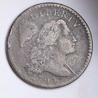 1794 FLOWING HAIR LARGE CENT CHOICE FINE SHIPS FREE E142 UCEH