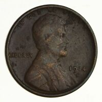 1914-D LINCOLN WHEAT CENT - CIRCULATED 5335