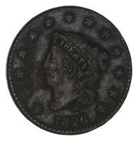 1826 MATRON HEAD LARGE CENT - CIRCULATED 1343
