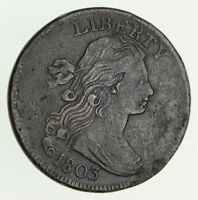 1803 DRAPED BUST LARGE CENT - CIRCULATED 7882