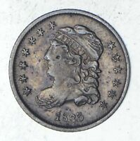 1835 CAPPED BUST HALF DIME - SHARP 9318
