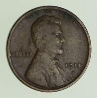 1914-D LINCOLN WHEAT CENT - CIRCULATED 0472