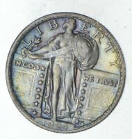 1924 STANDING LIBERTY SILVER QUARTER - CIRCULATED 9228