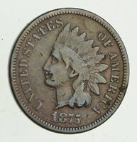 1875 INDIAN HEAD CENT - CIRCULATED 9483