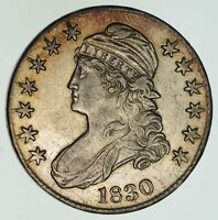 1830 CAPPED BUST HALF DOLLAR - NEAR UNCIRCULATED 4621