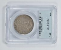 VF35 1821 CAPPED BUST HALF DOLLAR - PCGS GRADED 5499