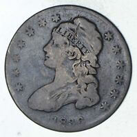 1836 CAPPED BUST HALF DOLLAR - CIRCULATED 9293