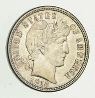 1916 BARBER HEAD SILVER DIME - UNCIRCULATED 9458