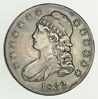 1832 CAPPED BUST HALF DOLLAR - CHOICE 9536