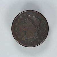 1808 CLASSIC HEAD LARGE CENT 1C VG / F  GOOD TO FINE 7252
