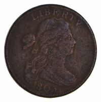 1803 DRAPED BUST LARGE CENT - CIRCULATED 9916