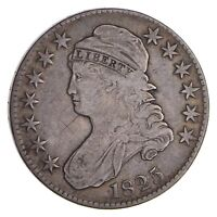 1825 CAPPED BUST HALF DOLLAR - CIRCULATED 9961