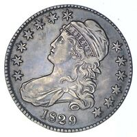 1829 CAPPED BUST HALF DOLLAR - CIRCULATED 0357