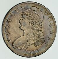 1833 CAPPED BUST HALF DOLLAR - CIRCULATED 4606