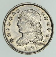 1832 CAPPED BUST HALF-DIME - NOT CIRCULATED 4765