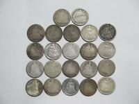 SEATED LIBERTY DIMES 10 CENTS SILVER LOW GRADE U.S MINT TYPE