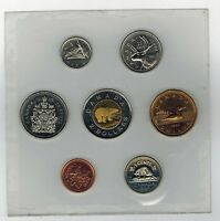 1998 W 7 COIN SET CANADA UNCIRCULATED