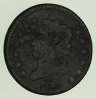 1813 CLASSIC HEAD LARGE CENT - CIRCULATED 8772