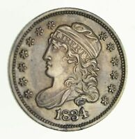 1834 CAPPED BUST HALF DIME - NEAR UNCIRCULATED 4120
