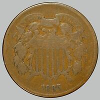 1865 SHIELD TWO CENTS