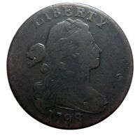 LARGE CENT/PENNY 1798 COLLECTOR COIN NICE