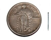 1917 T1 STANDING LIBERTY QUARTER HIGH END CIRC.COIN LUSTER BUY IT NOW  C216
