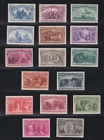 US 230P4 245P4 1C $5 COLUMBIAN EXPOSITION CARD PROOFS VF XF SCV $2110  005