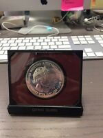 1972 CAYMAN ISLANDS 25 DOLLARS COMMEMORATIVE STERLING SILVER PROOF COIN