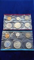 1962 PHILADELPHIA & DENVER MINT UNCIRCULATED SILVER COINS SE