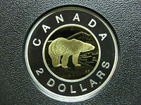 2007 CANADIAN SILVER PROOF TOONIE  $2.00