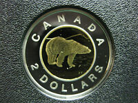 2008 CANADIAN SILVER PROOF TOONIE  $2.00