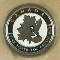 2003 CANADIAN GOOD FORTUNE SILVER MAPLE LEAF COIN  CS474