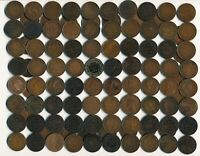 102 OLD CANADA LG. CENTS &  INCL. 2 TOKENS 1854 1920 MANY CO