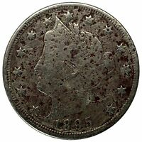 1895 5C LIBERTY NICKEL - PITTED BUT LIBERTY IS VISIBLE -