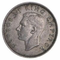 ROUGHLY SIZE OF QUARTER 1941 NEW ZEALAND 1 FLORIN   WORLD SI