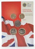 2011 UNITED KINGDOM 13 COIN MINT COLLECTION   THE ROYAL MINT