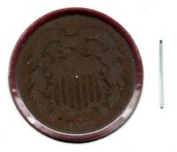 1871 TWO CENT PIECE BETTER DATE CIRCULATED  BUY IT NOW C997
