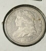 1836 CAPPED BUST DIME CLEANED???