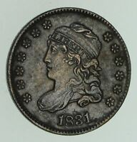 1831 CAPPED BUST HALF-DIME - CIRCULATED 4763