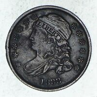 1833 CAPPED BUST DIME - CIRCULATED 9548