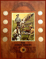 VINTAGE LIBERTY NICKEL 9-COIN COLLECTION: THE 49'ERS 1897-1912