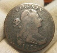 1796 DRAPED BUST LARGE CENT  REVERSE OF 94