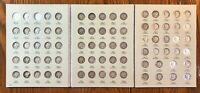 MERCURY DIME COLLECTION   VERY NICE COMPLETE SET LESS 16 D