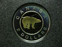 2004 CANADIAN SILVER PROOF TOONIE  $2.00