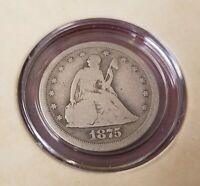 1875 S TWENTY CENT PIECE WITH ARTIFACT AUTHENTICITY PACKET R