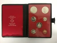 1971 ROYAL CANADIAN MINT PROOF SET COINS DOUBLE DOLLAR COIN