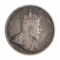 BETTER   1909 CANADA 5 CENTS   1.6 GRAMS   WORLD SILVER COIN