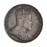 BETTER   1910 CANADA 5 CENTS   1 GRAMS   WORLD SILVER COIN