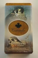 2006 CANADIAN SILVER COIN & STAMP SET   PEREGRINE FALCON & N